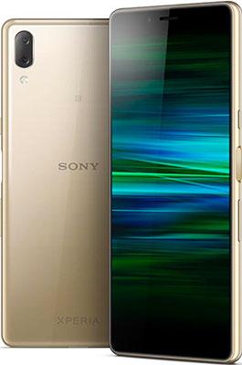 лучшая цена Смартфон Sony Xperia L3 золотой