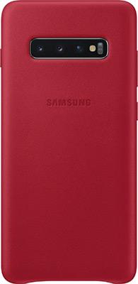 лучшая цена Чехол (клип-кейс) Samsung S 10+ (G 975) LeatherCover red EF-VG 975 LREGRU