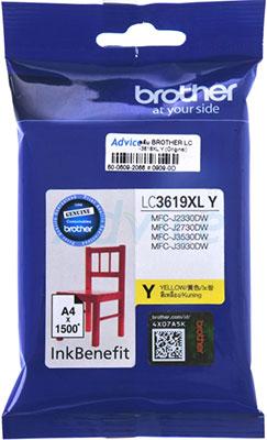 Фото - Картридж Brother LC 3619 XLYжелтый брюки lc waikiki lc waikiki mp002xw1f00t