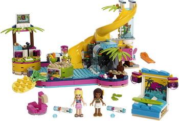 цены на Конструктор Lego Friends 41374 Вечеринка Андреа у бассейна  в интернет-магазинах