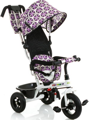 Велосипед Babyhit Kids Tour XT WHITE-VIOLET велосипед babyhit kids ride лазурный