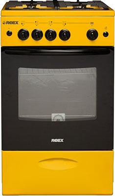 Газовая плита Reex REEX CG-54297 eYe желтый