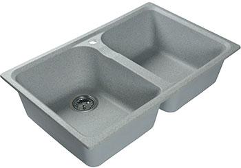 Кухонная мойка Lex Constance 780 Space Gray серый цена и фото