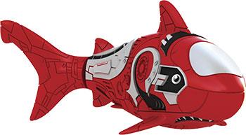 В виде животного(ых) Robofish РобоРыбка Акула (красная) 2501-8 игрушка для ванны robofish роборыбка клоун цвет оранжевый белый