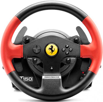 Руль Thrustmaster T150 Ferrari Wheel Force Feedback (4160630) руль thrustmaster t80 ferrari 488 gtb edition