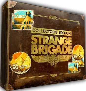 цена на Игра для приставки Sony PS4: Strange Brigade. Коллекционное издание