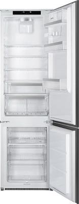 Встраиваемый двухкамерный холодильник Smeg, C7194N2P, Италия  - купить со скидкой