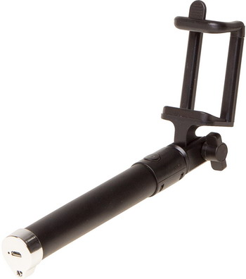 цена на Штатив для селфи Buro Selfie SS-BT-BK черный/серебристый