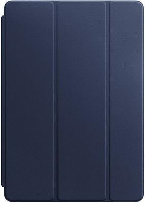 Чехол-обложка Apple Leather Smart Cover для iPad Pro 10 5'' Midnight Blue (тёмно-синий) MPUA2ZM/A apple smart cover mmg62zm a mint