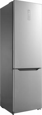 Двухкамерный холодильник Korting, KNFC 62017 X, Китай  - купить со скидкой
