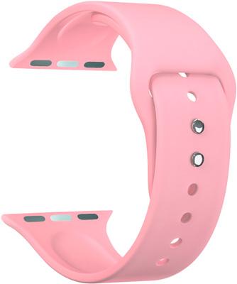 Универсальный силиконовый ремешок Lyambda для часов 22 mm ALTAIR DSJ-01-06T-22-LP Light pink