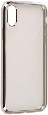 Чехол (клип-кейс) Eva для Apple iPhone X - Прозрачный/Серебристый (IP8A010S-X) клип кейс ideal iphone x antique roses