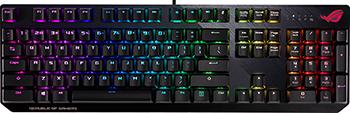 Игровая клавиатура проводная ASUS ROG Strix Scope черная (90MP0185-B0RA00)