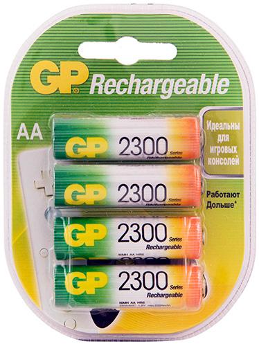 Аккумулятор GP 230AAHC AA NiMH 2300mAh (4шт)