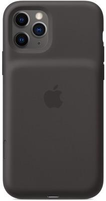 Чехол-аккумулятор Apple для iPhone 11 Pro Smart Battery Case with Wireless Charging - Black MWVL2ZM/A чехол аккумулятор для iphone xs apple smart battery case pink sand клип клейс силикон беспроводная зарядка