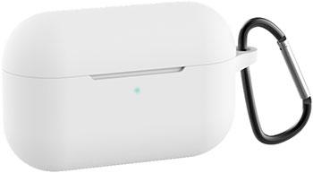 Фото - Чехол силиконовый Eva для наушников Apple AirPods Pro с карабином - белый (CBAP302W) ноутбук lenovo thinkpad t490s intel core i5 8265u 1600 mhz 14 1920x1080 8gb 256gb ssd no dvd uhd graphics 620 wi fi bluetooth windows 10 pro