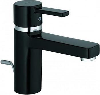 Смеситель для ванной комнаты Kludi ZENTA для раковины XL  черный/хром  арт. 382608675