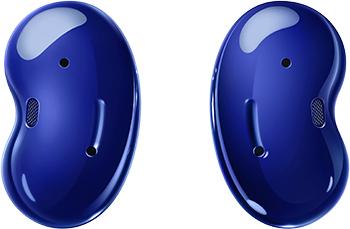 Фото - Беспроводные наушники Samsung Galaxy Buds Live синие SM-R180NZBASER printio чехол для samsung galaxy s7 объёмная печать динозавры фэнтези raptor