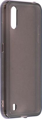 Чехол (клип-кейс) Samsung Galaxy M01 araree M cover черный (GP-FPM015KDABR)