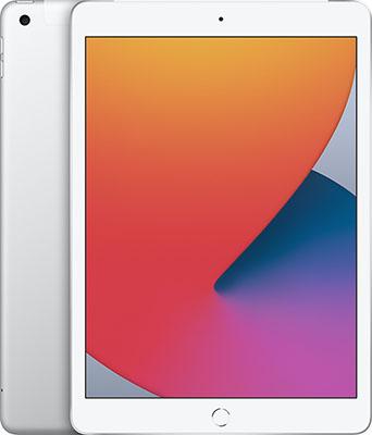 Планшет Apple 10 2-inch iPad (2020) Wi-Fi & Cellular 32GB серебрянный (MYMJ2RU/A) планшет apple ipad 10 2 2020 wi fi cellular 32gb space grey mymh2ru a