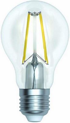 Лампа Uniel LED-A60-15W/3000K/E27/CL PLS02WH Форма ''A'' прозрачная (3000K) 005849 лампа светодиодная uniel led a60 12w 3000k e27 cl pls02wh форма a прозрачная 3000k 004866