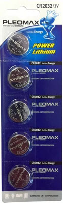 Батарейка Pleomax CR2032-5BL батарейка perfeo cr2032 5bl lithium cell 5 штук