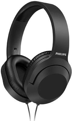 Фото - Накладные наушники Philips TAH2005BK/00 без микрофона BLACK наушники philips tat8505bk 00 черный