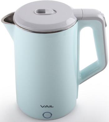 Чайник электрический Vail VL-5553 (seamless) голубой