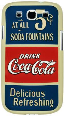 цена на Чехол (клип-кейс) Hardcover Coca-Cola 03 для Galaxy S3