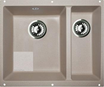 Кухонная мойка Zigmund amp Shtain INTEGRA 500.2 каменная соль