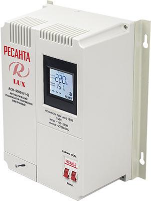 цена на Стабилизатор напряжения Ресанта АСН-5000 Н/1-Ц Lux