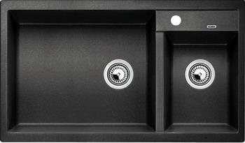Кухонная мойка BLANCO METRA 9 SILGRANIT (чаша слева) антрацит цены