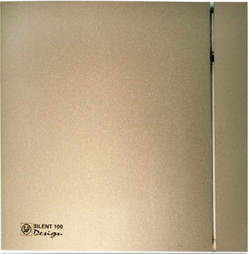 все цены на Вытяжной вентилятор Soler & Palau Silent-100 CRZ Design 4C (шампань) 03-0103-174 онлайн