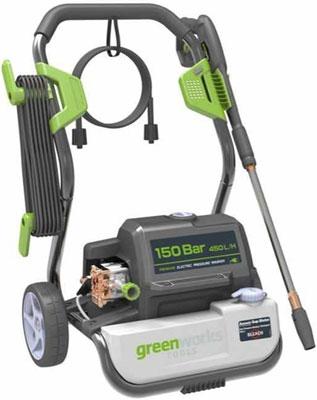 Минимойка Greenworks G7 150 bar 5100807 минимойка greenworks g8 160 bar