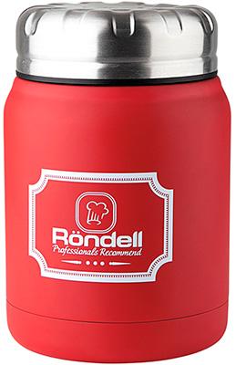 Термос для еды Rondell Red Picnic RDS-941 0 5 л термос 0 5 л rondell platinum rds 1066