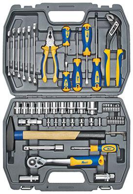 цена на Набор инструментов разного назначения Kraft KT 700303 56 предметов