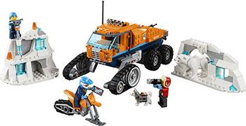 Конструктор Lego Грузовик ледовой разведки 60194