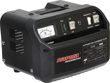 Устройство зарядное Парма УЗ-20 02.008.00003 зарядное устройство калибр уз 10а