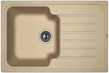 Кухонная мойка Florentina Таис 760 760х510 бежевый FG цены