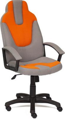 Кресло Tetchair NEO (3) (ткань серый/оранжевый С27/С23) кресло tetchair baggi ткань серый синий с27 с24