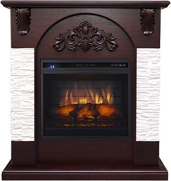 цены на Каминокомплект Royal Flame Chester с очагом vision-18 (темный дуб) 9222364917267 в интернет-магазинах