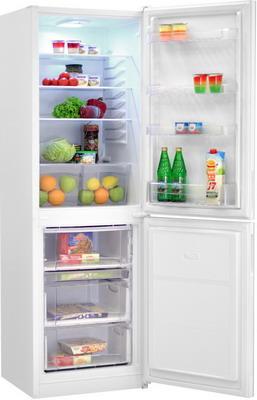 Двухкамерный холодильник Норд NRG 119 042 белое стекло