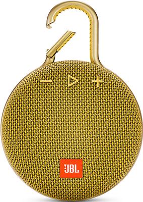Портативная акустическая система JBL Clip 3 желтый JBLCLIP3YEL