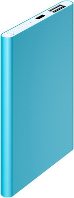 Внешний аккумулятор Red Line J01 (4000 mAh) металл синий red line b8000 pink gold внешний аккумулятор 8 000 mah