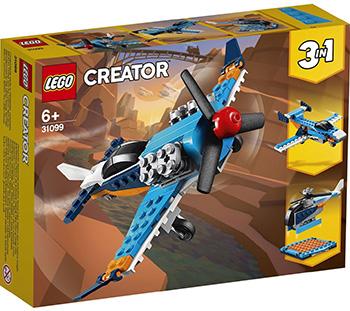 Фото - Конструктор Lego CREATOR ''Винтовой самолёт'' lego creator городской магазин игрушек 31105