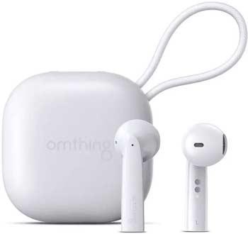 Наушники беспроводные 1More Omthing AirFree Pods True Wireless Headphones White (EO005-White) наушники беспроводные 1more omthing airfree pods true wireless headphones black eo005 black