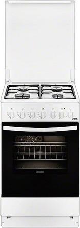 Комбинированная плита Zanussi ZCK 9552 G1W цена и фото