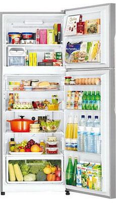 лучшая цена Двухкамерный холодильник Hitachi R-V 472 PU3 INX