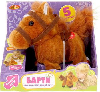 Фото - Пони My Friends БАРТИ интерактивная игрушка my friends пони барти музыкальный 5 функций ходит 17 см hth412b