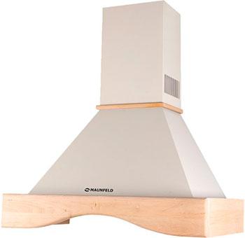 лучшая цена Вытяжка MAUNFELD GRETTA NOVAS (C) 90 Бежевый/неокрашенная деревянная (клён)